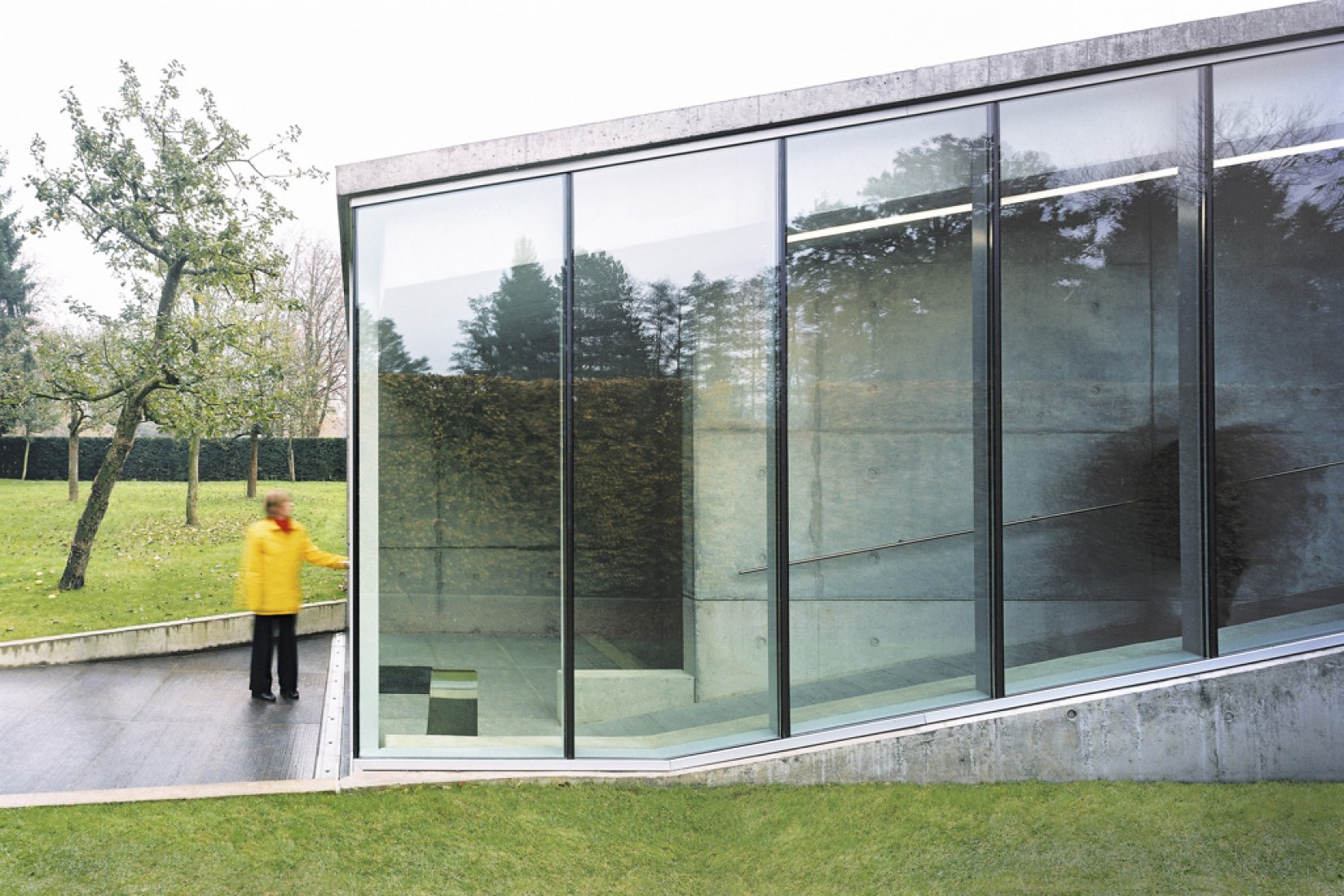 Hedge House. Imagen cortesía de © Wiel Arets Architects.
