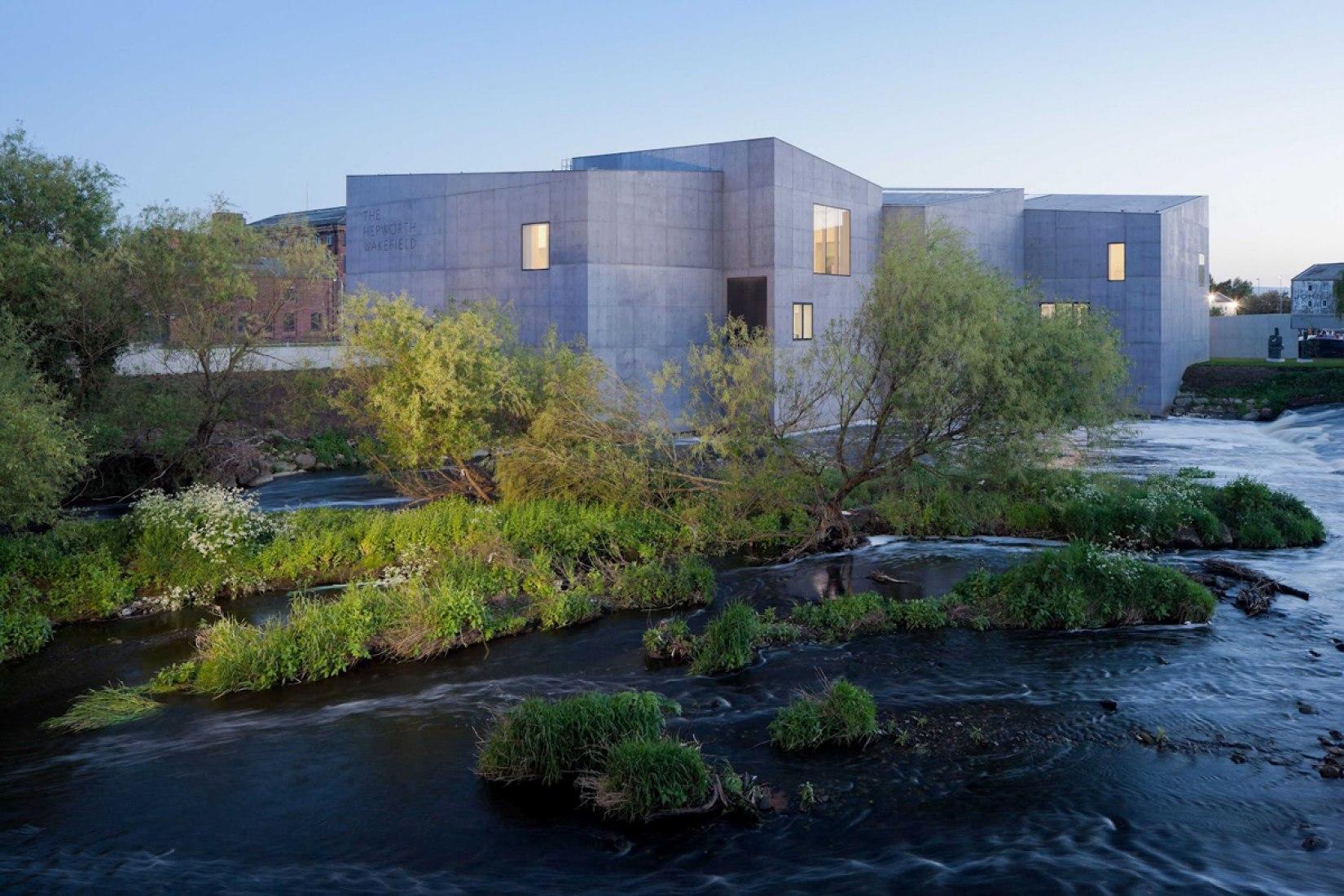 Museo Hepworth Wakefield por David Chipperfield Architects. Fotografía  ©  Iwan Baan