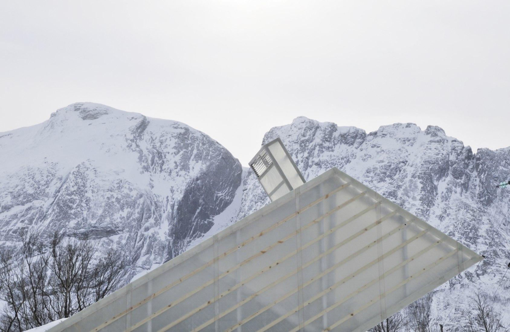 Roof detail. Photography © Courtesy of Carl-Viggo Hølmebakk.