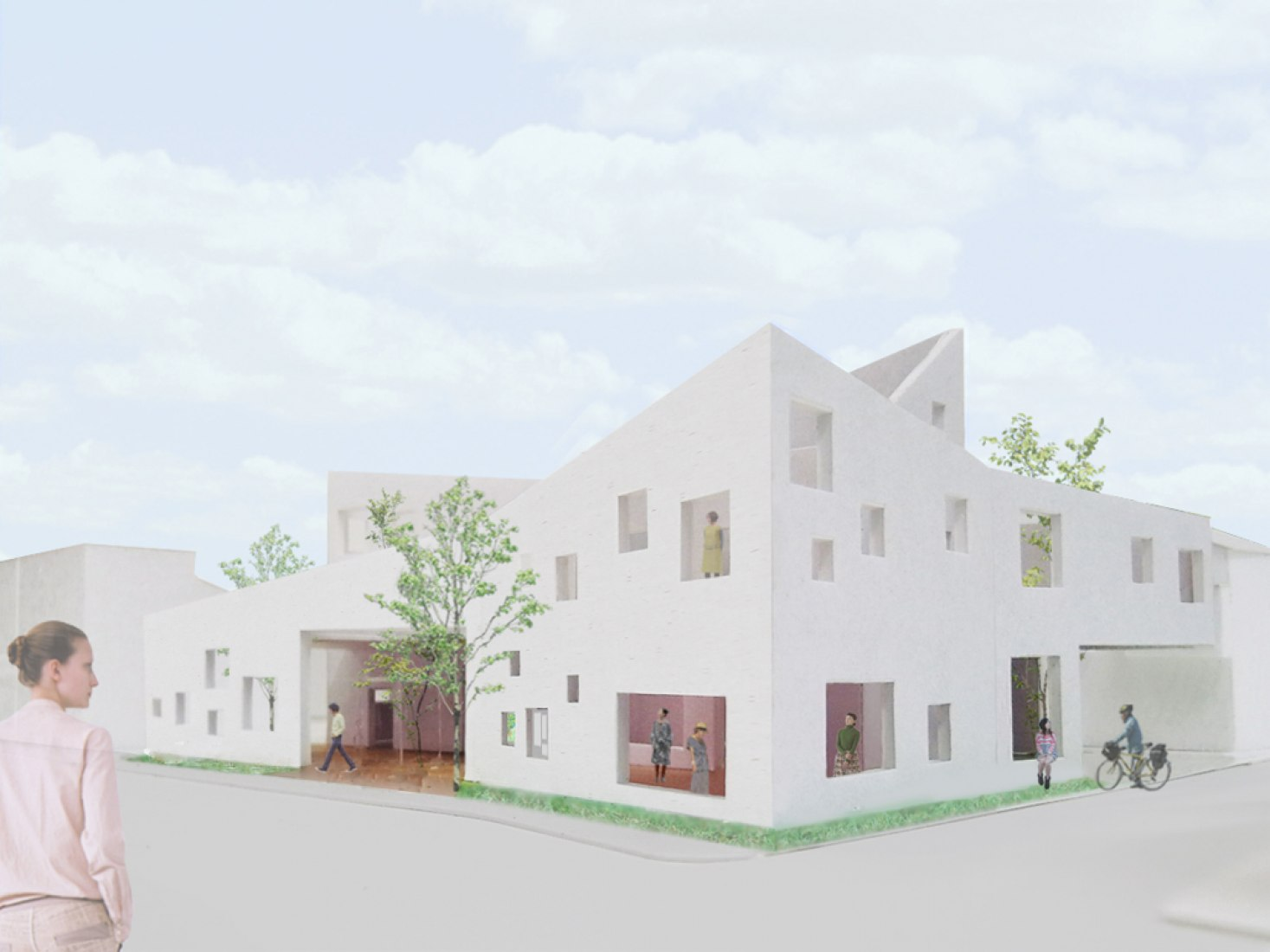 Exterior photomontage, MMST by Torafu Architects. © Torafu Architects.