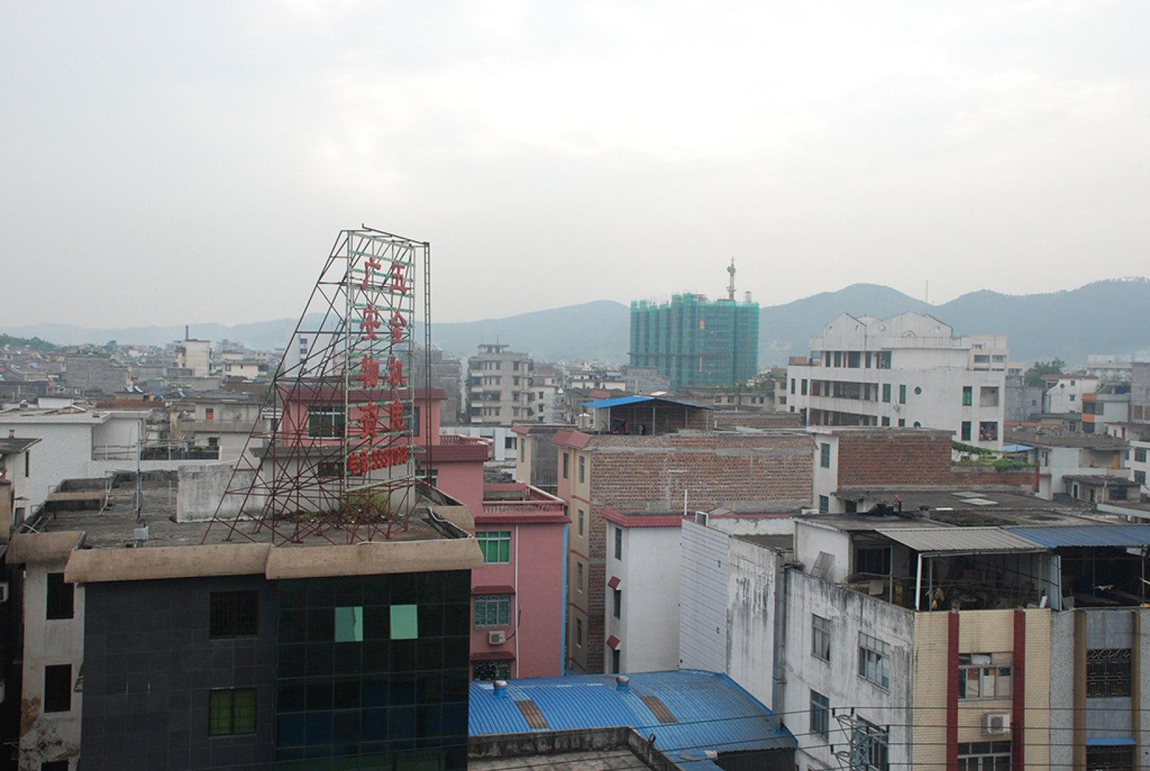 Vista de la ciudad. Escuela Primaria Mulan. © Rural Urban Framework (RUF).