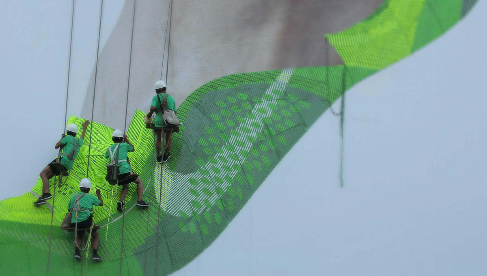 Nike Free Flyknit por Wieden + Kennedy en Shanghai