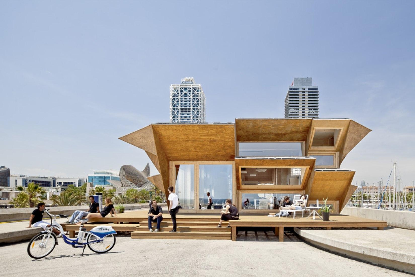 Endesa Pavilion. Photography © Adrià Goula
