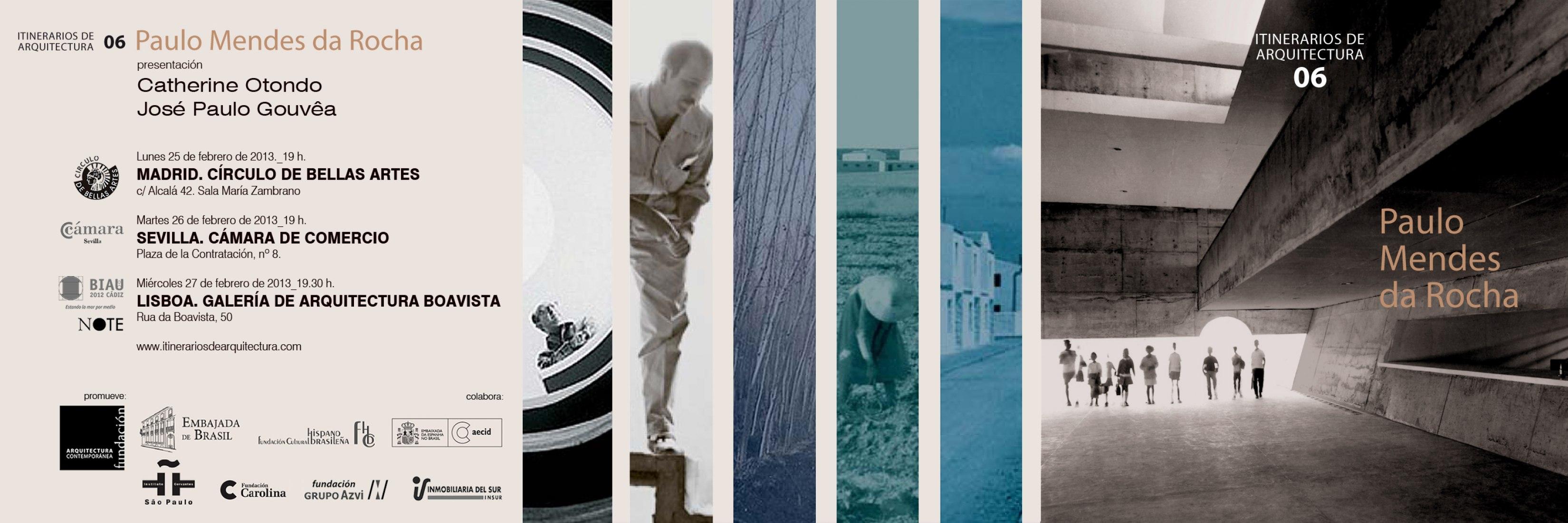 Itinerario de Arquitectura 06: Paulo Mendes da Rocha