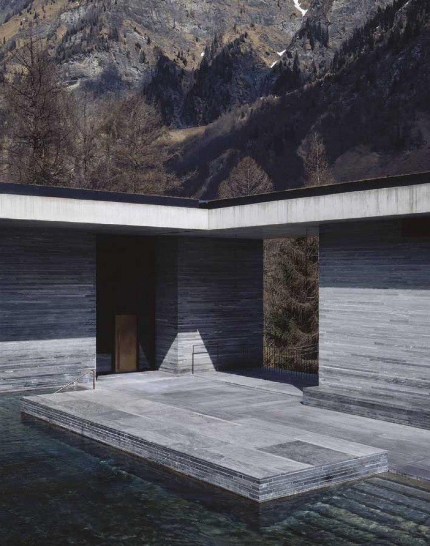 Baths at Vals - Therme Vals. By Peter Zumthor. Photography © Hélène Binet.