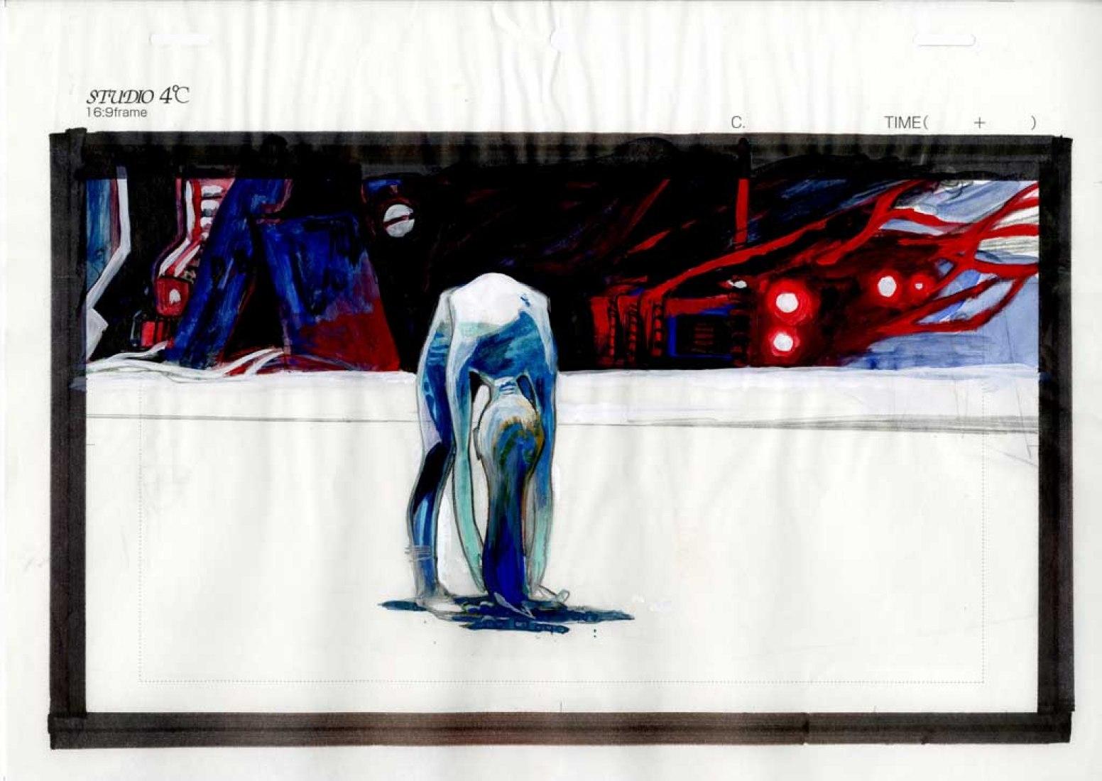 Koji Morimoto Imageboard para Dimension Bomb copyright Studio 4°C, 2009.