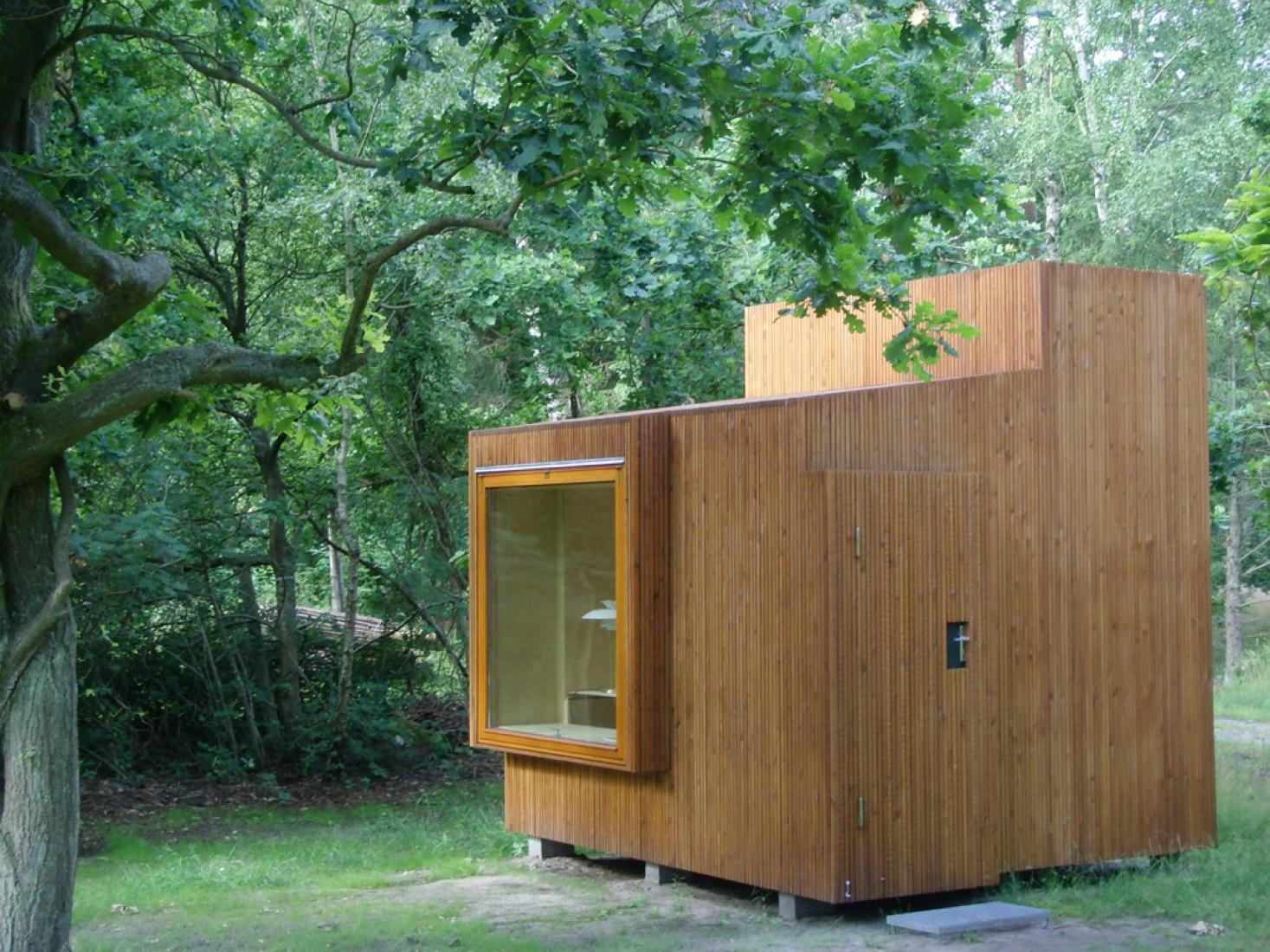 Vista exterior. Read Nest por Dorte Mandrup Arkitekter. Fotografía © Mandrup Poulsen.