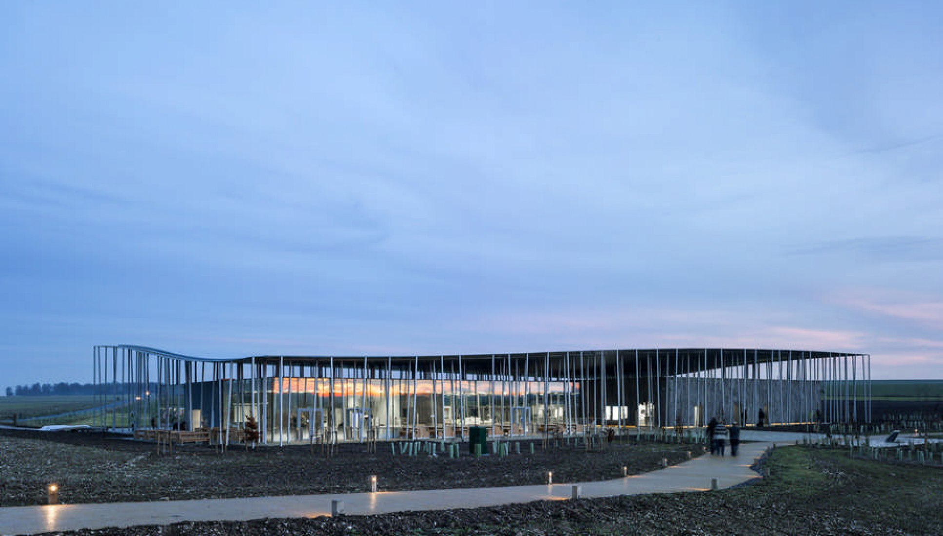 New Stonehenge Visitor Centre by Denton Corker Marshall. Photography © Peter Cook.