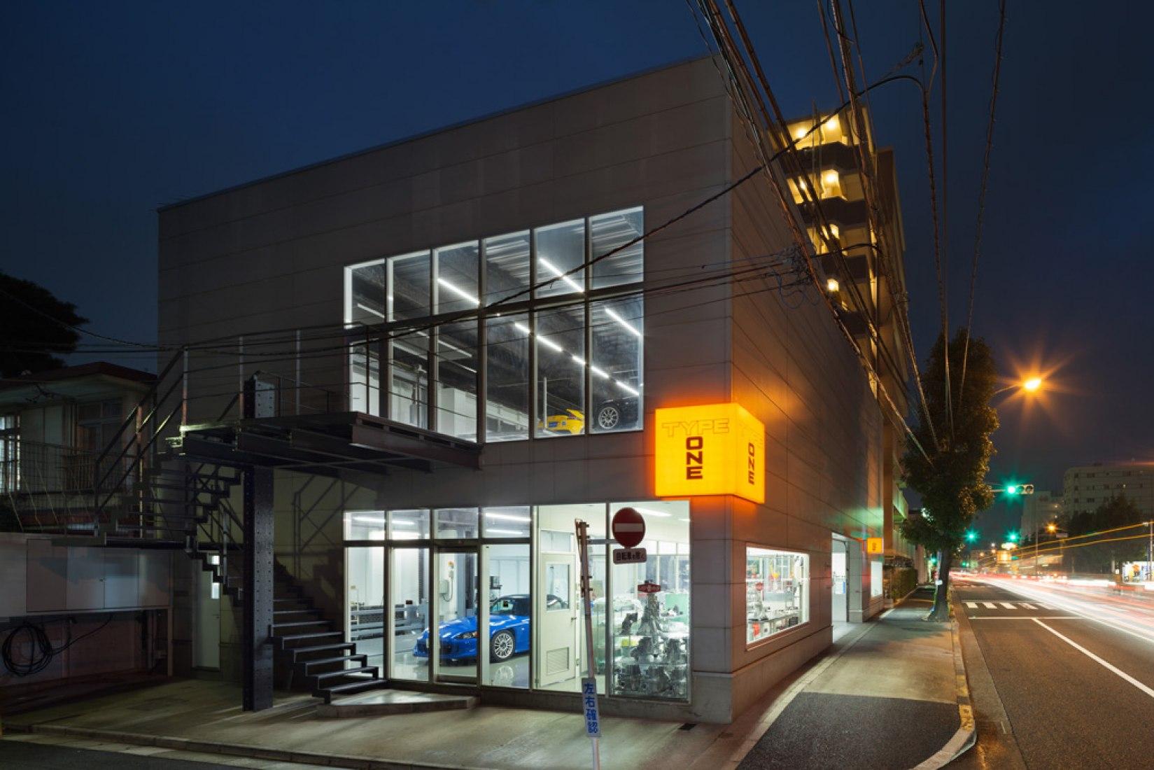 Speedshop type One. Photography  © Takumi Ota.
