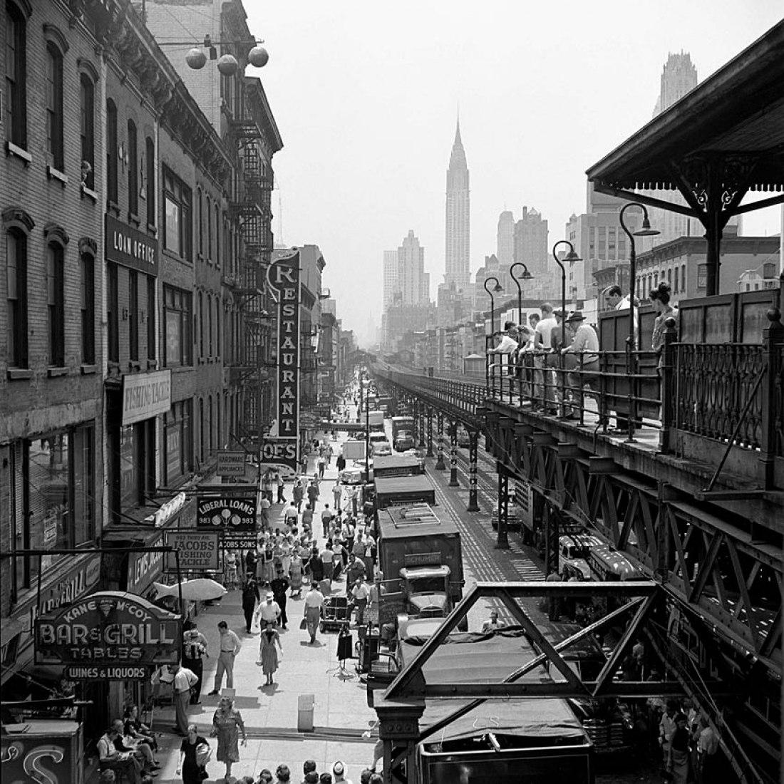 1953, Nueva York, NY. Por Vivian Maier. Cortesía de Álamo Comunicación.