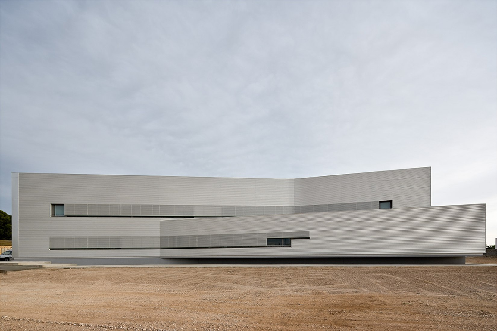 Centro de Atención Primaria por Josep Camps y Olga Felip. Fotografía © Pedro Pegenaute.