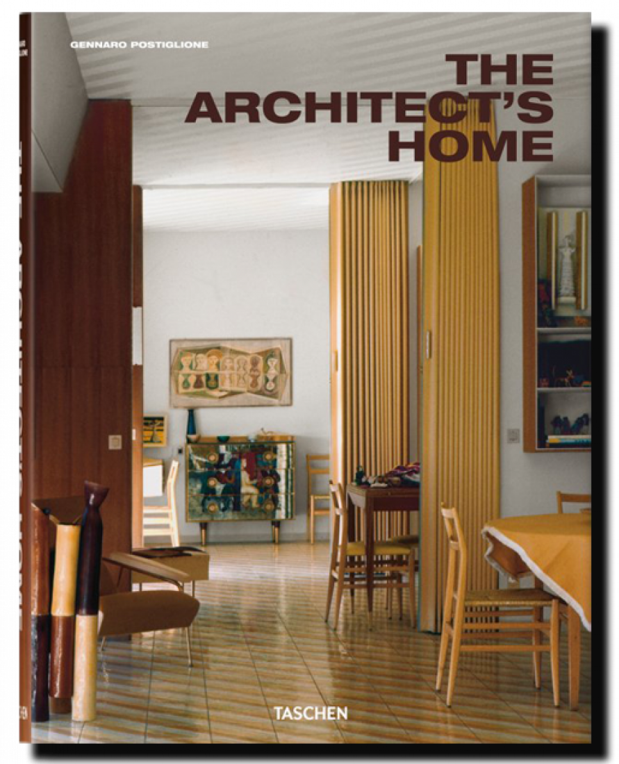Cover The architect's home. By Taschen.
