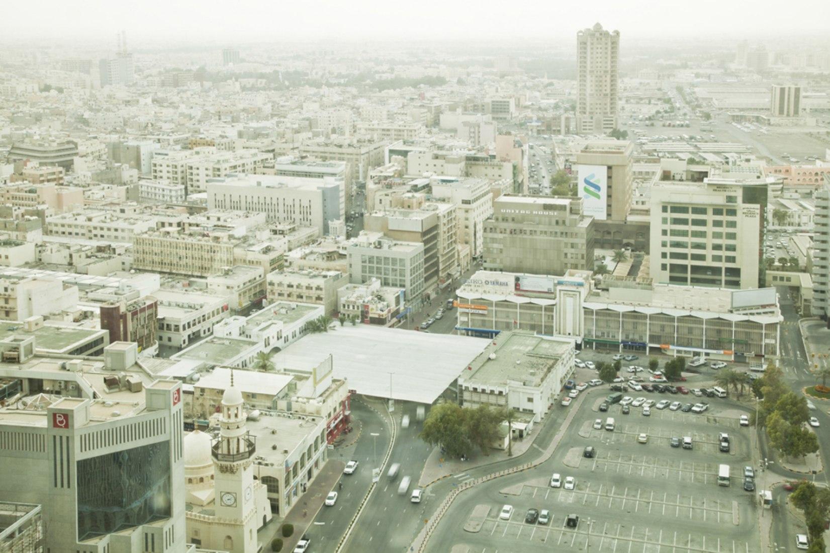Vista aérea del conjunto. Fotografía © Eman Ali.