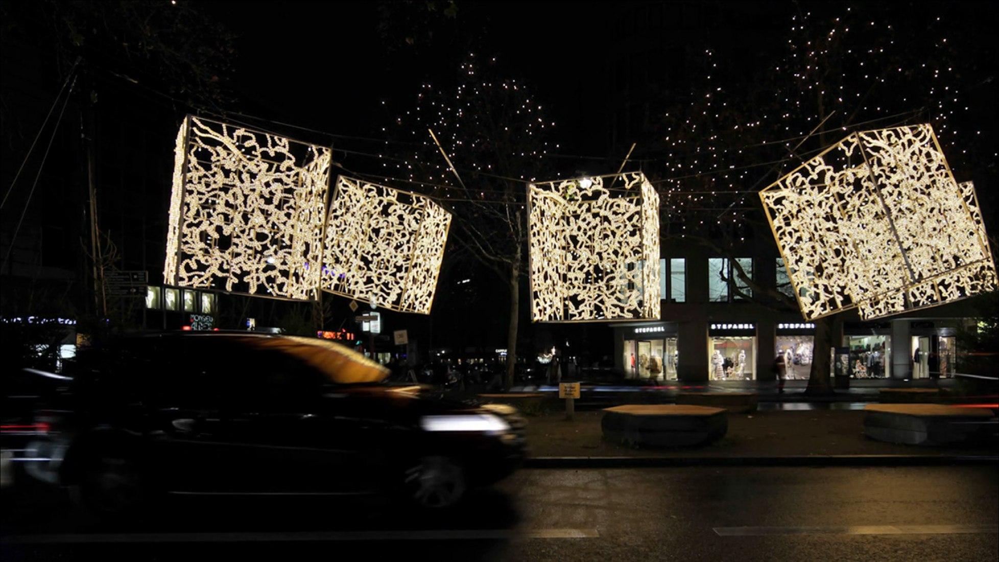 Corte de vídeo. Luces de Navidad en Berlín 2013 por Brut Deluxe. Vídeo por ImagenSubliminal.
