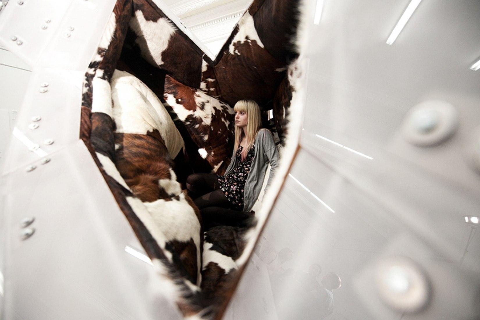 White Elephant (Privately Soft) (2011). Exposción en: LoT Louisville, KY por Bureau-Spectacular.