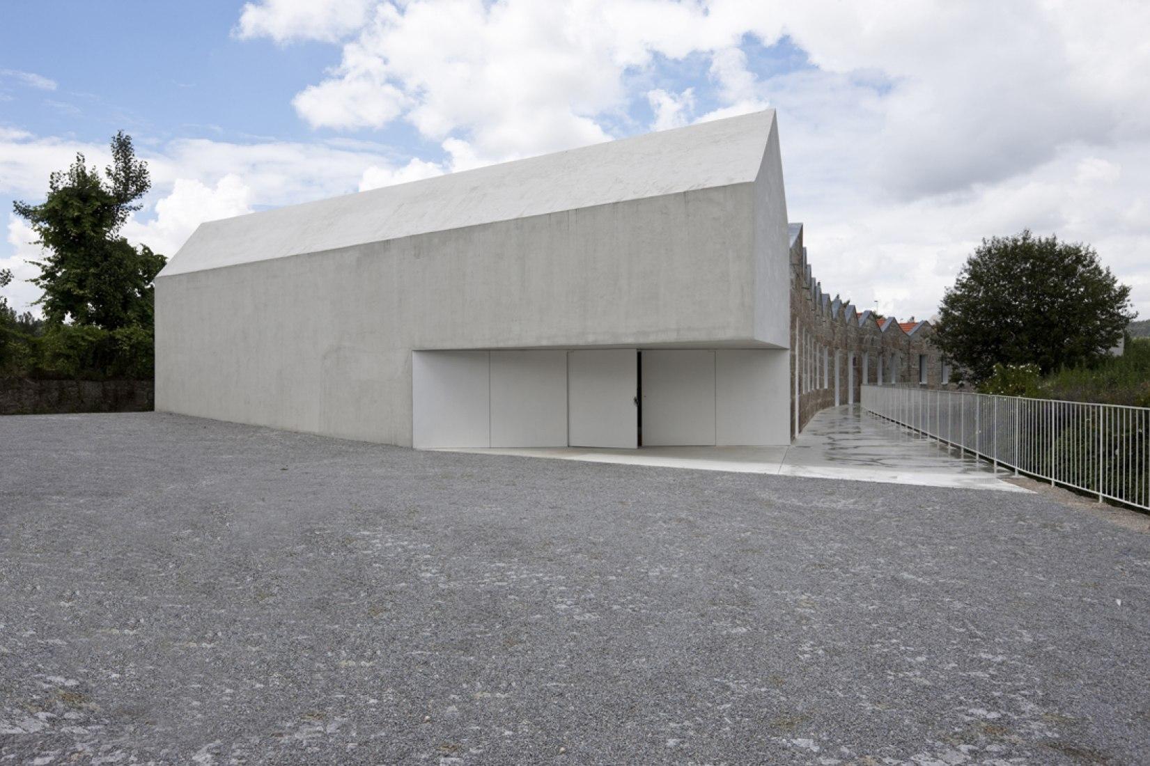 Detalle de entrada. Laboratorio del Paisaje por Cannatà & Fernandes, arquitectos. Fotografía © Luis Ferreira Alves.