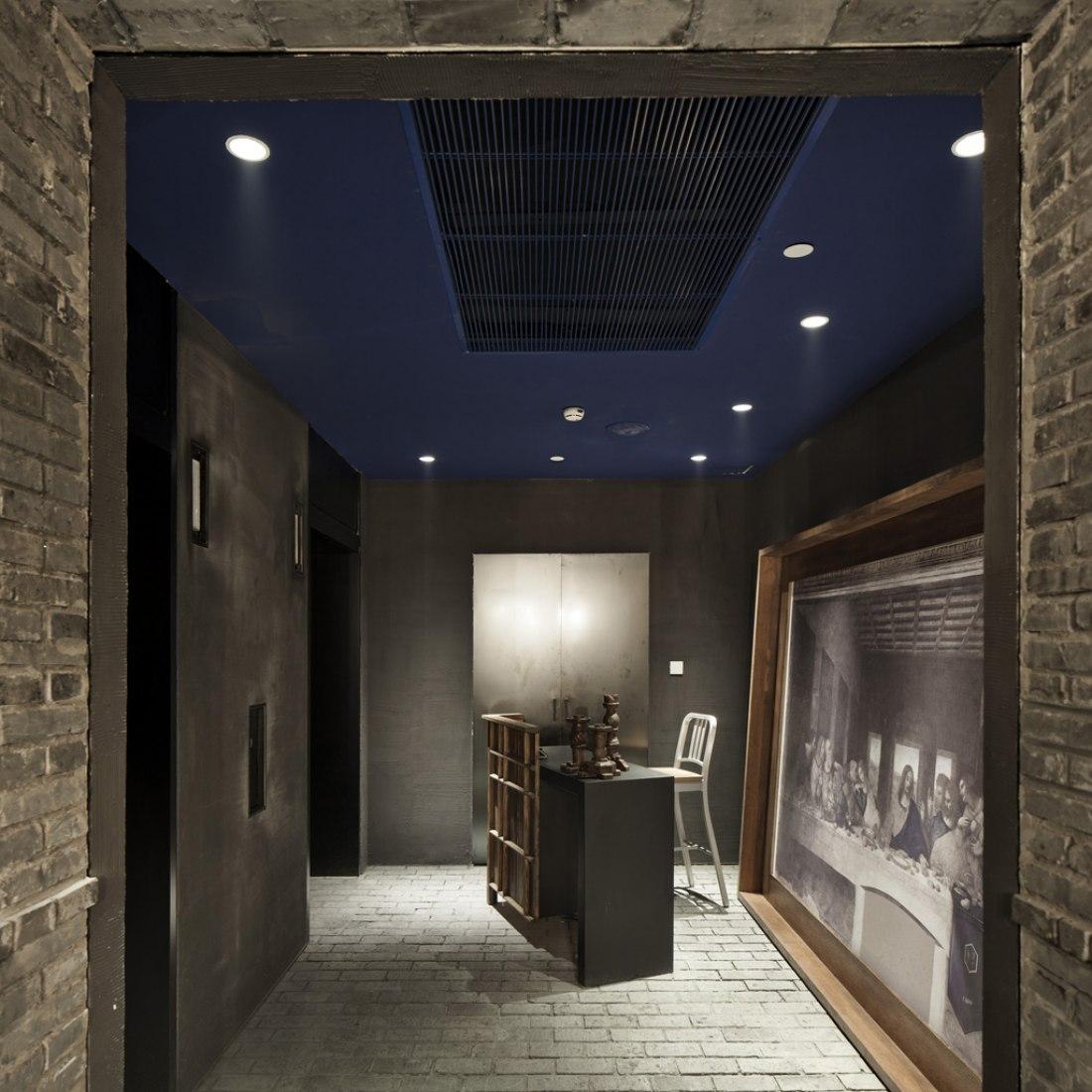 Interior view of Capo Restaurant by Neri&Hu. Photography © Shen Zhonghai.