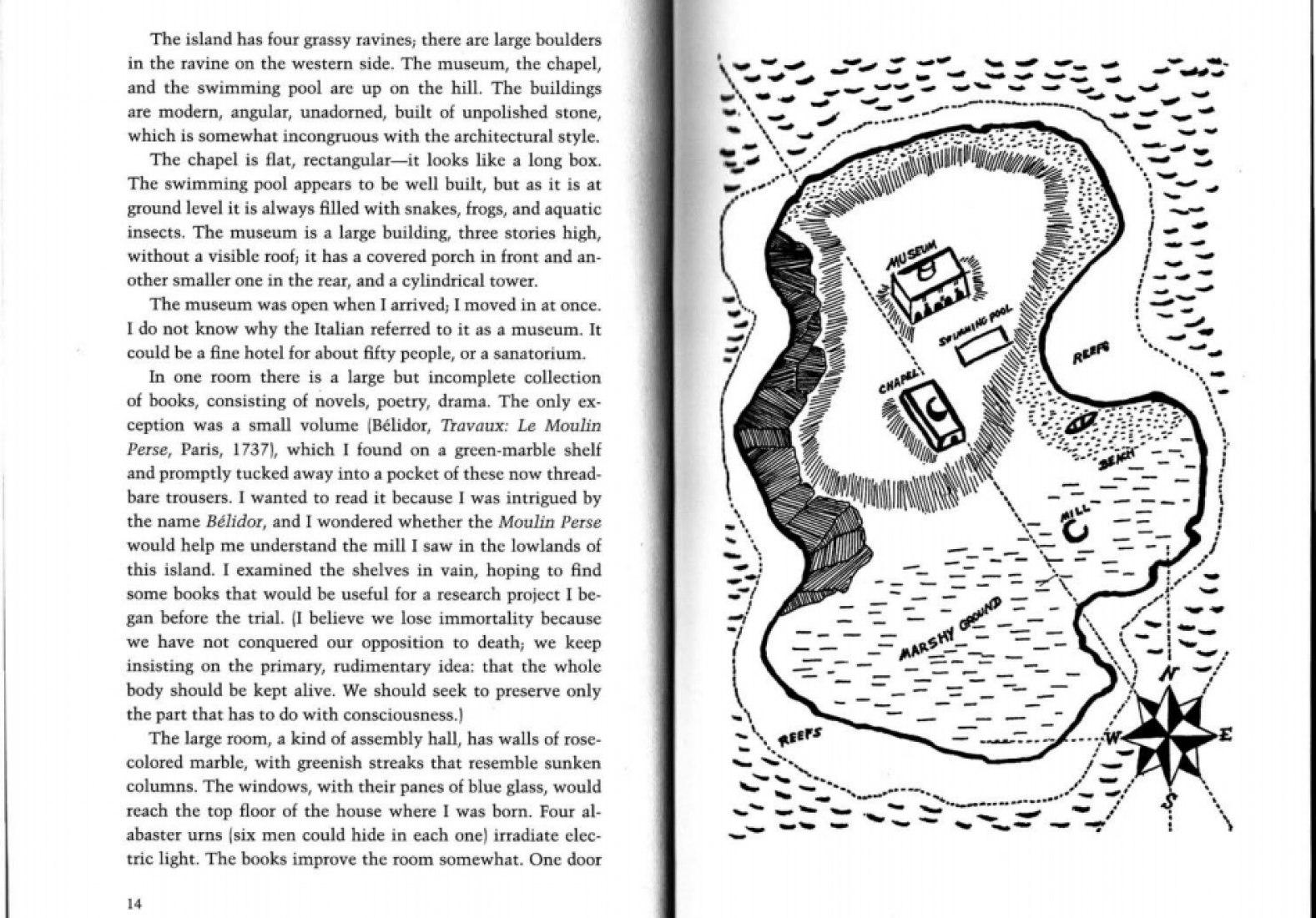 Página con ilustración de la traducción inglesa. Ed. NYRB Classics.