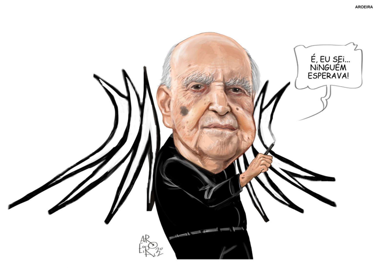 Oscar Niemeyer por Aroeira.