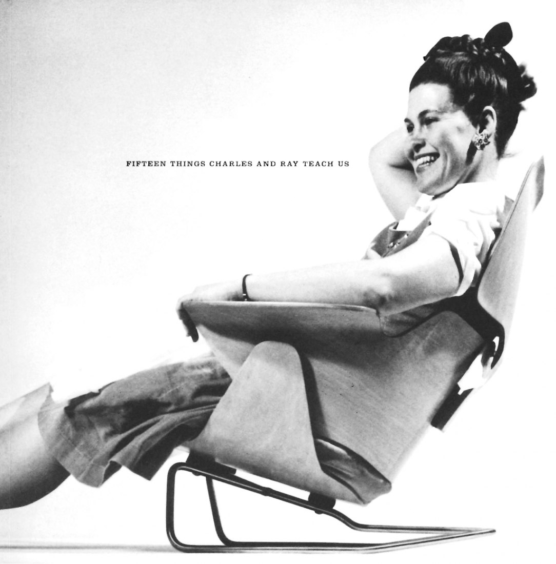 Ray Eames. Cover. Essay by Keith Yamashita.