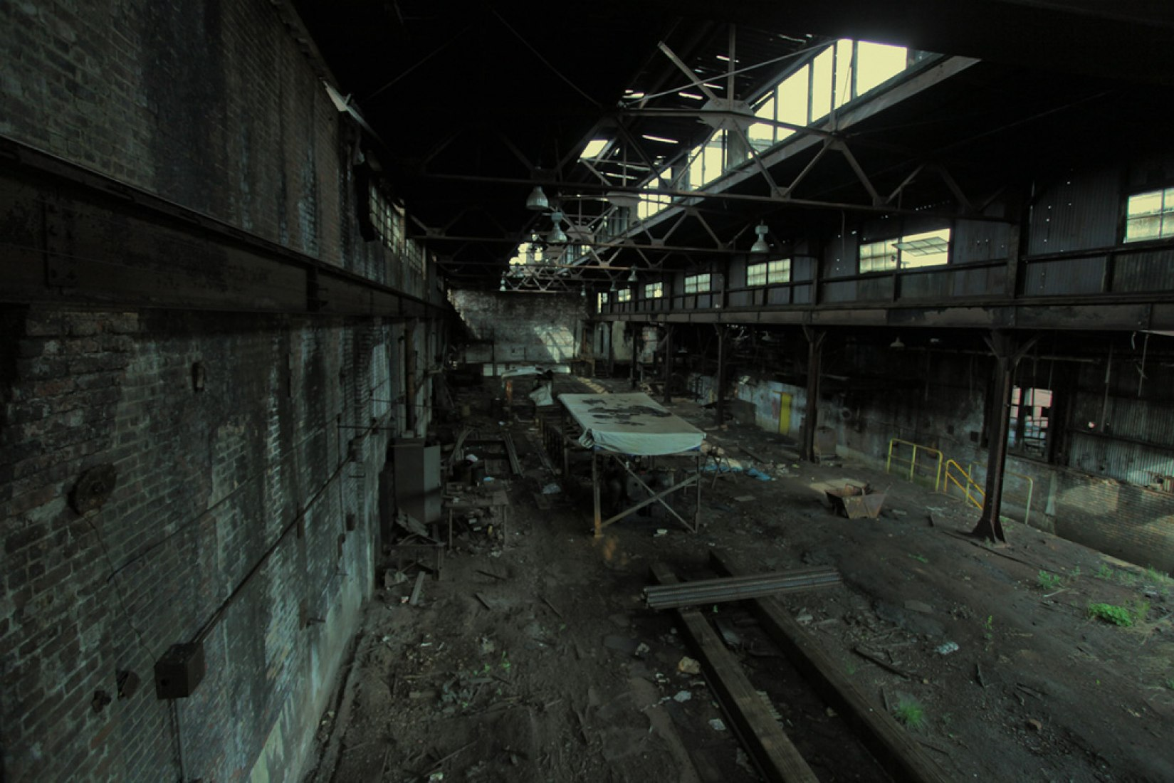 Urbex Factory New York. Photography by Anthony Teror.
