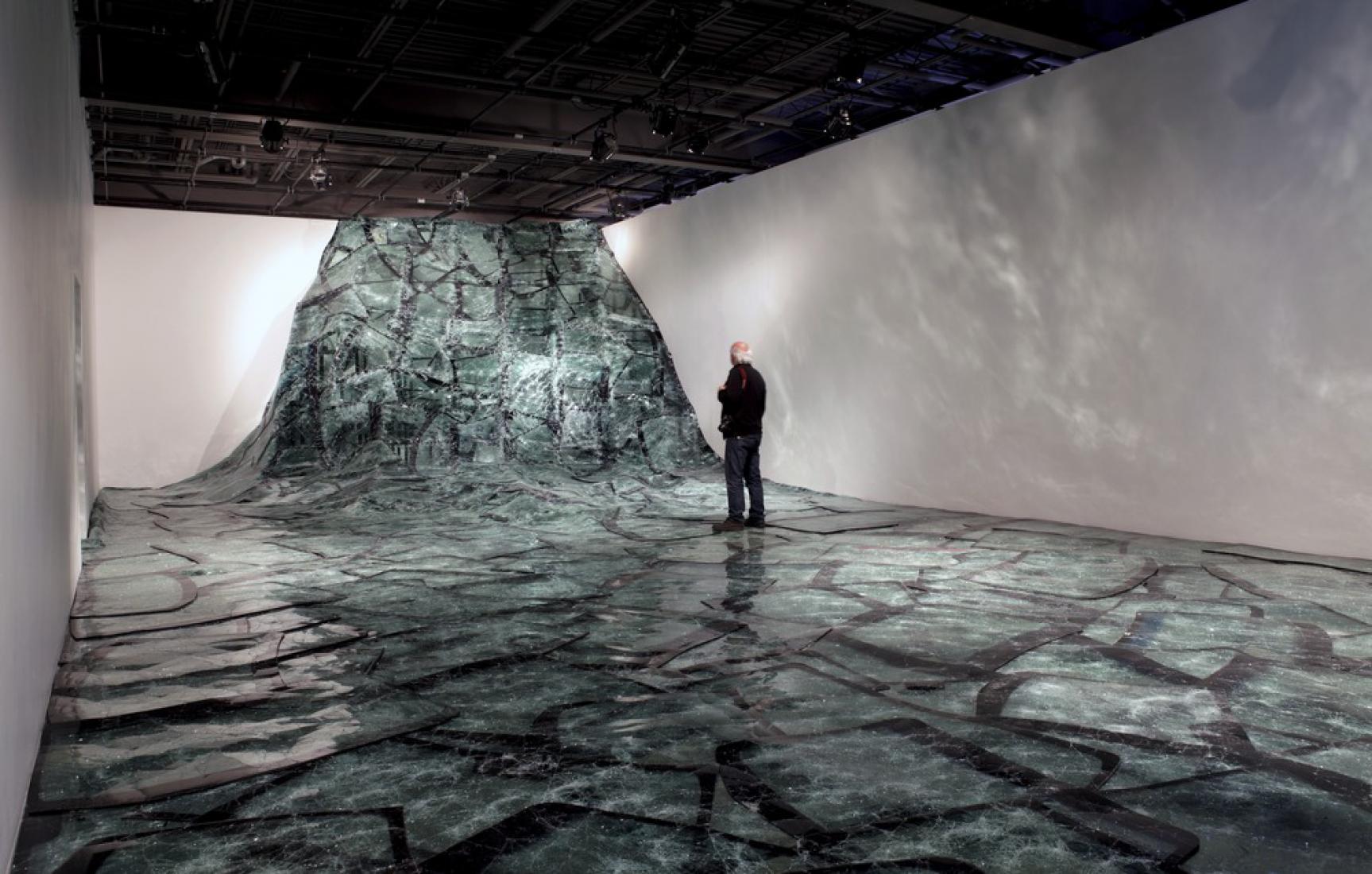 Flow, de Baptiste Debombourg. Centre d'Art Actuel l'Oeil de Poisson, Quebec, Canadá.
