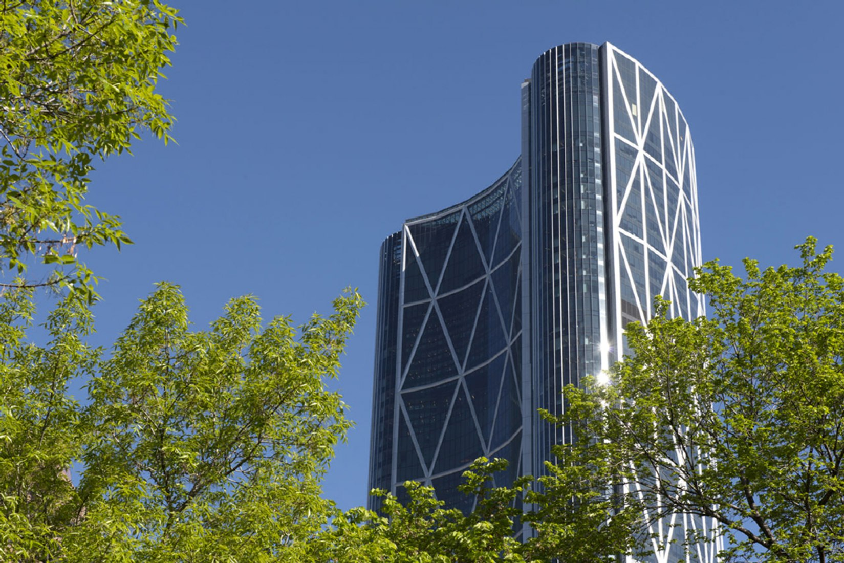 The Bow en Calgary, Canada.© Foster+Partners, Nigel Young.