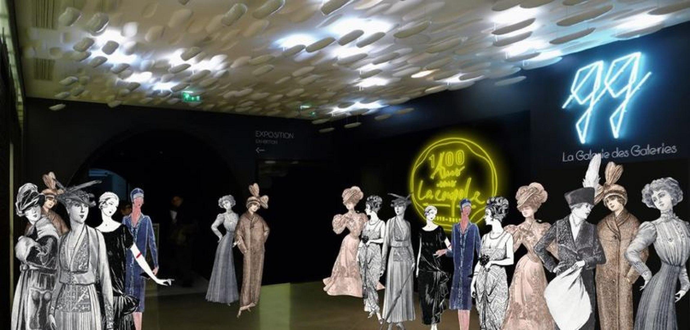 Los irónicos almacenes de París celebrarn el 100 aniversario de su famosa cúpula, un símbolo de la tienda y la cultura. OMA ha sido invitado a estudiar este viaje cultural centenario. Copyright OMA.
