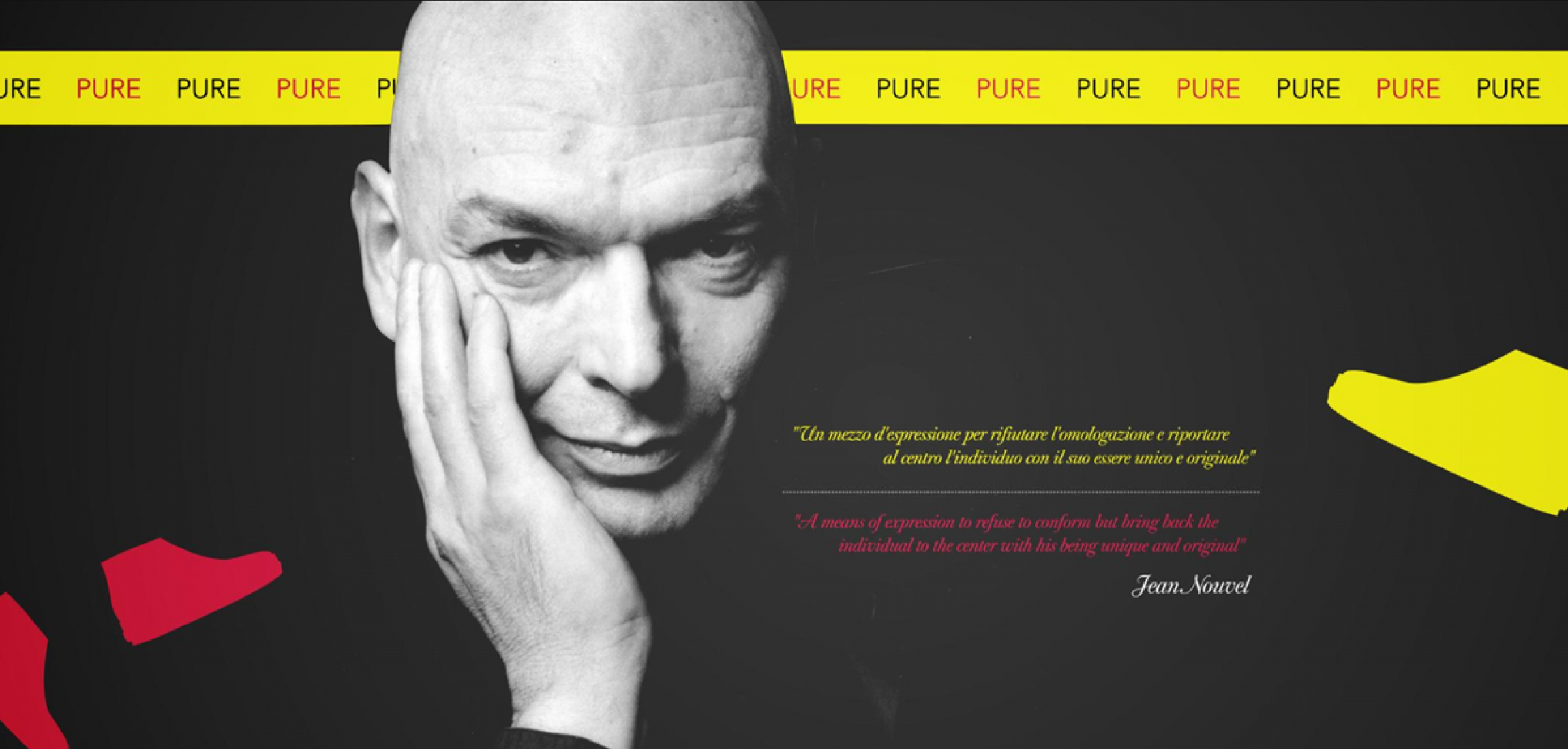 Pure by Jean Nouvel for Ruco Line. Image courtesy of Ruco Line.