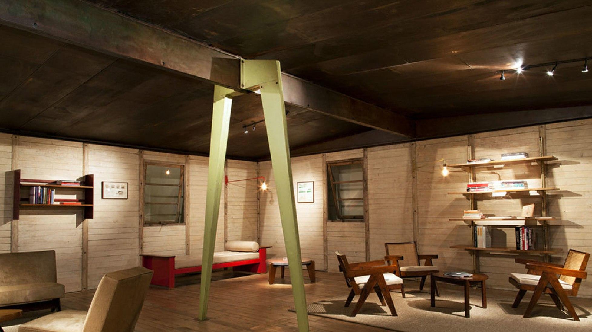 Maison 8x8, 1945 by Jean Prouvé. Galerie Patrick Seguin At Design Miami.