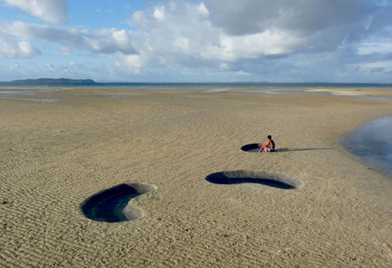 Baixa-mar, espelhos do ciél. Fotografía cortesía © X-STUDIO, Iván Juárez.