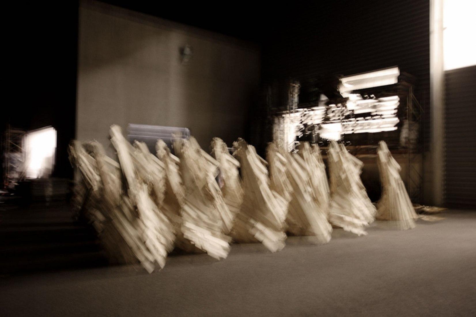 Les Premiers visiteurs por Francesca Bonesio y Nicolas Guiraud. Imagen cortesía de atelier 37.2.