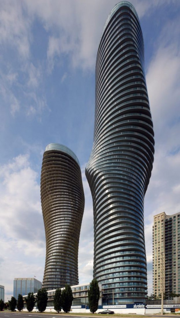 Finished. Absolute Towers, Mississauga, Canada. 2010-2012. Courtesy of Cano Estudio.