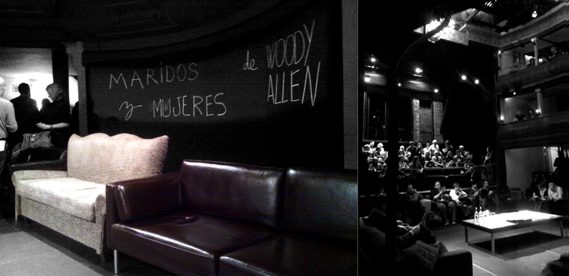 """""""Maridos y Mujeres"""" de Woody Allen en el Corral de Comedias de Alcalá de Henares. Fotografías © Verónica Roseo."""
