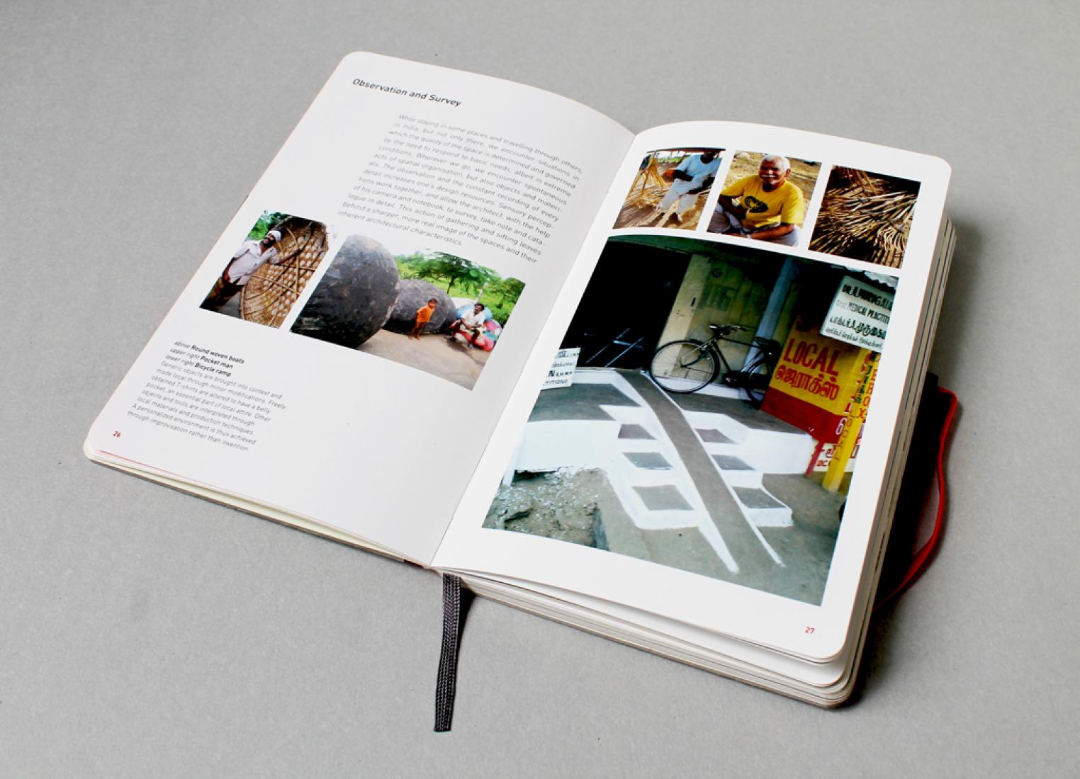 Páginas interiores. Inspiración y Proceso en Arquitectura: Studio Mumbai. MOLESKINE.