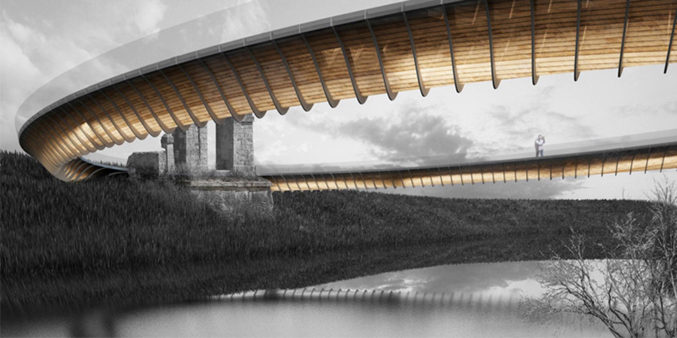 Ponte Leopoldo II. Por OFL Architecture
