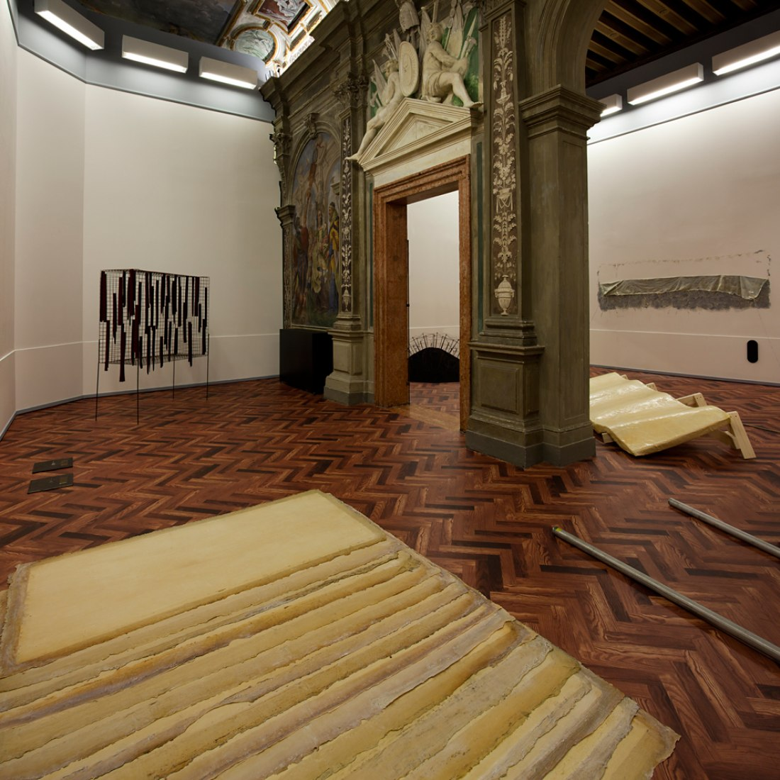 "Installation view of ""When Attitudes Become Form: Bern 1969/Venice 2013"