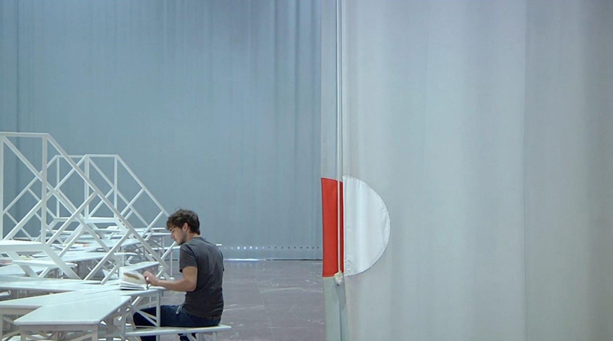 Haus der Kunst, Munich, 2007. Corte de vídeo.