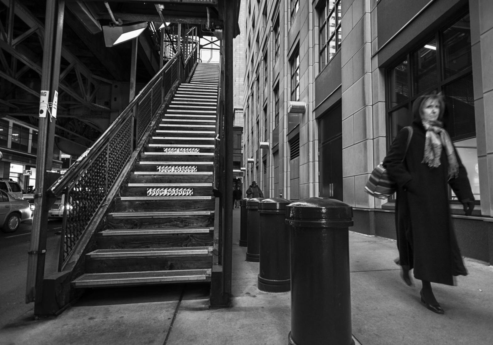 Chicago. Impediré que el viento salga. Fotografía de Raúl Urbina. © Raúl Urbina.