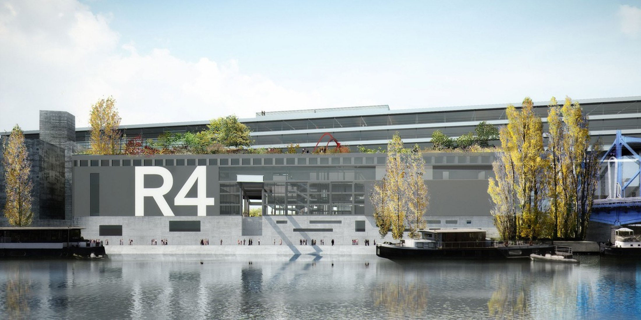 A rendering of R4 façade, July 2012 © Ateliers Jean Nouvel.
