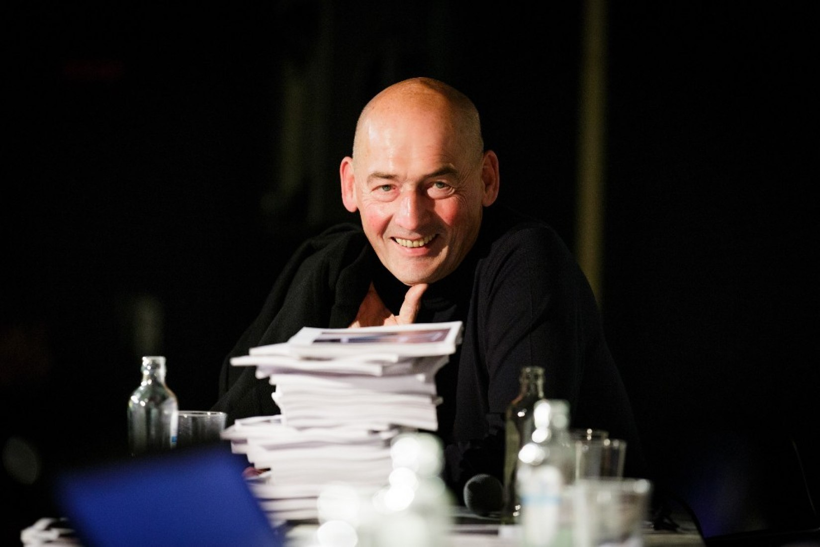 Rem Koolhaas by Photography © Fred Ernst.