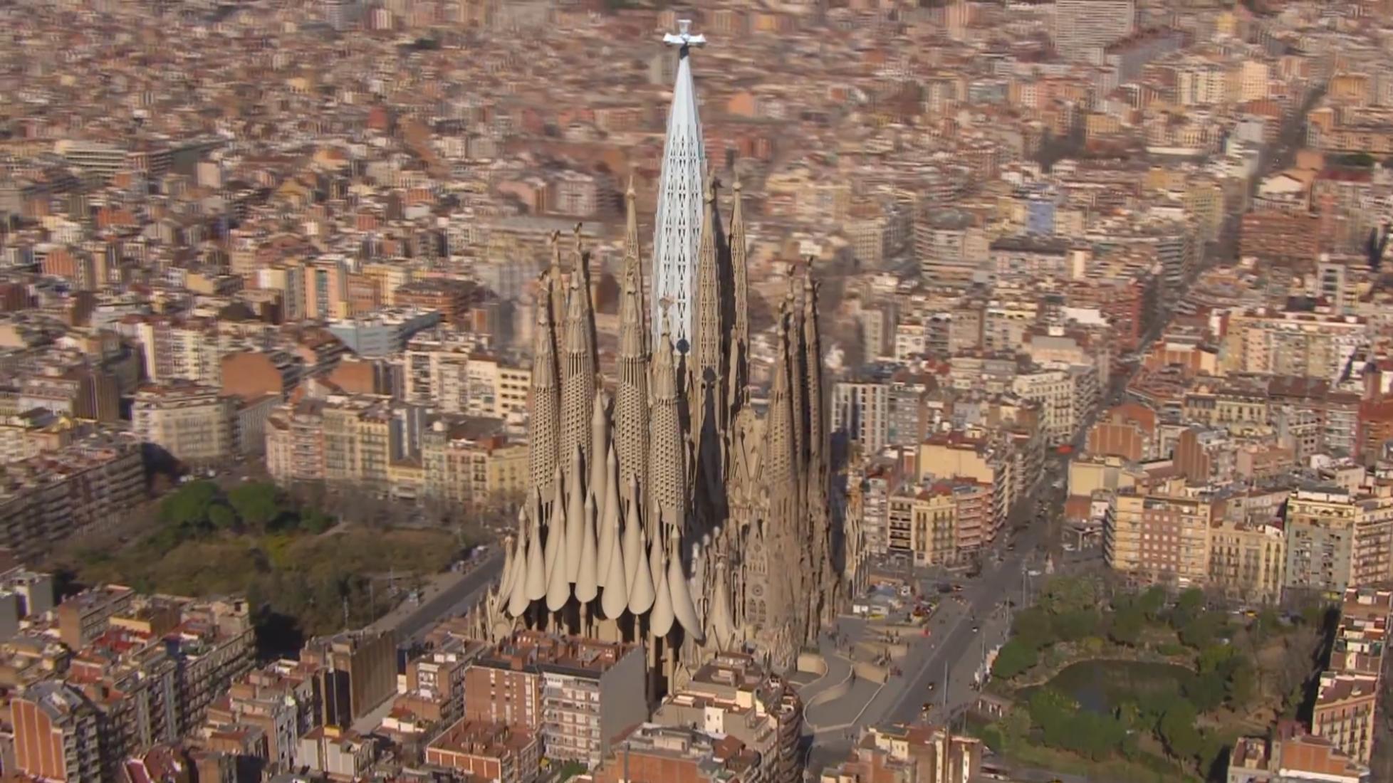 La Sagrada Familia por Gaudi en 2026
