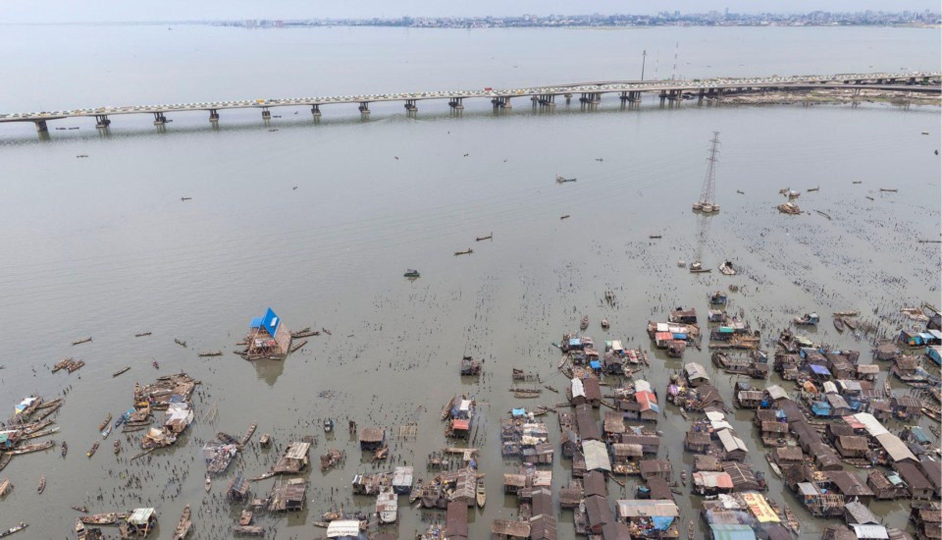 Makoko Floating school by NLÉ & Makoko Waterfront Community. Photography © Iwan Baan.