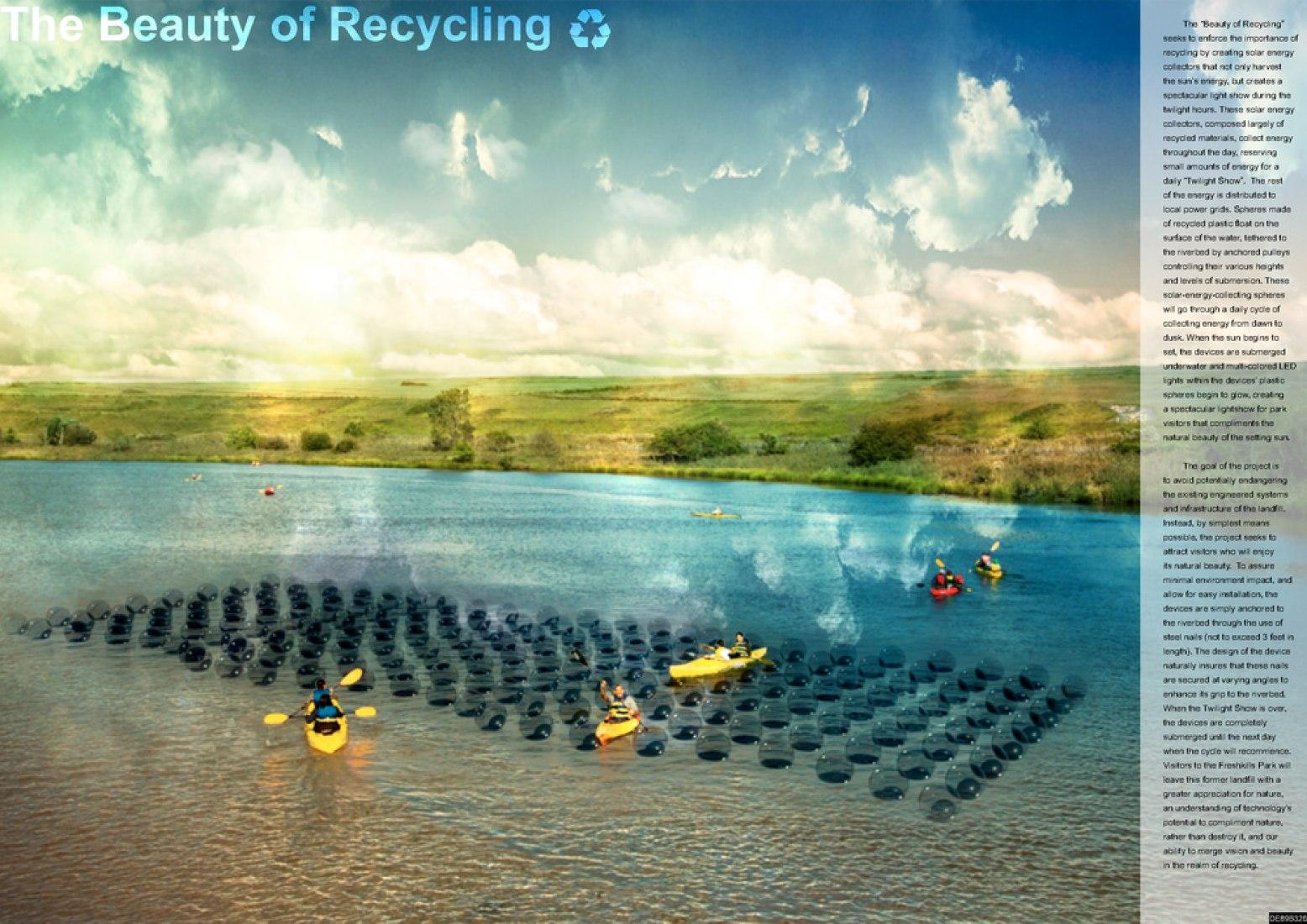 The Beauty of Recycling por Daniel Elmore.