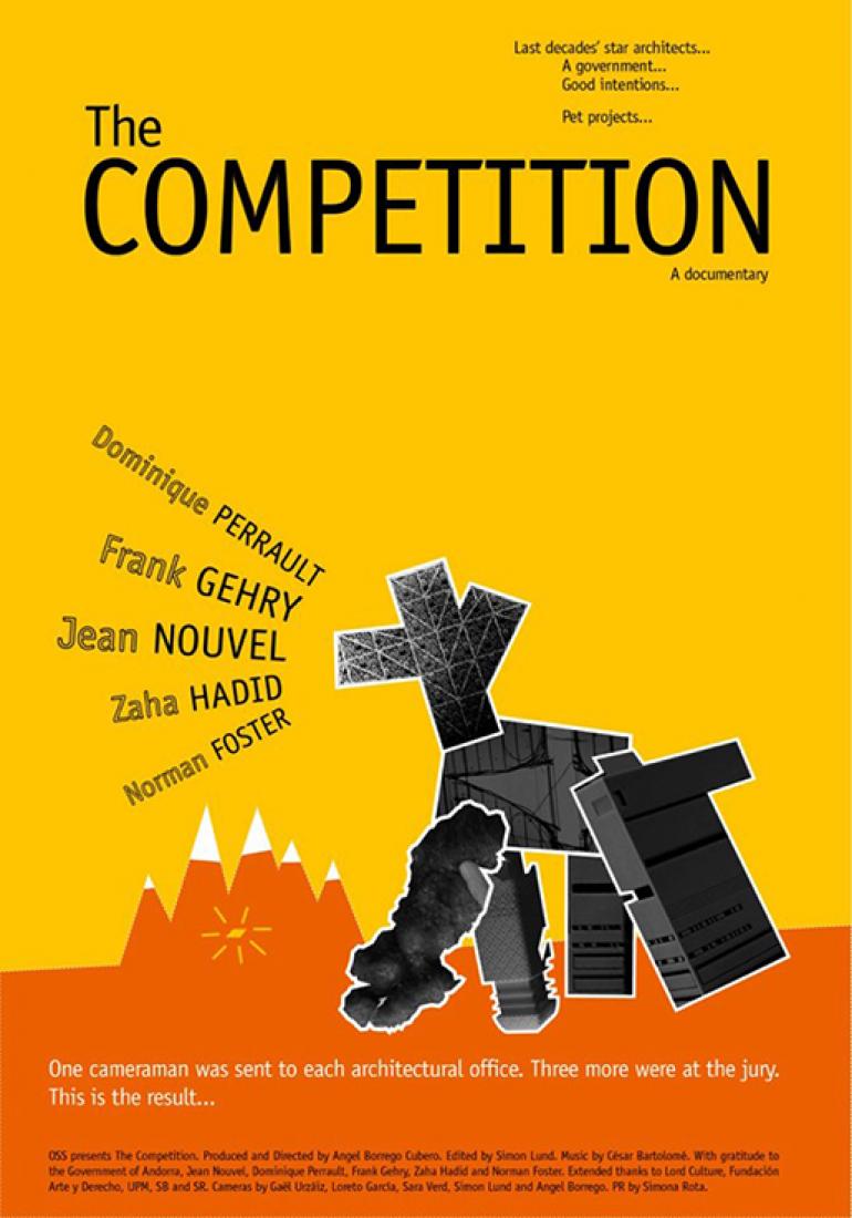 Cartel. The Competition, por Ángel Borrego Cubero.