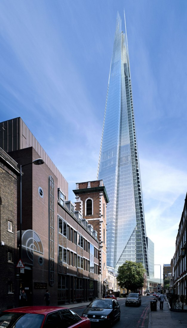 The Shard. By Renzo Piano. Photography © Hays Davidson and John McLean.