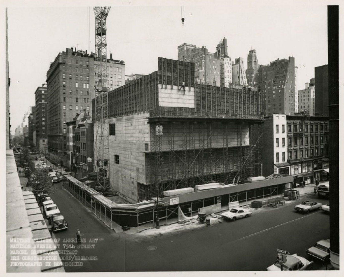 Whitney Museum of American Art. Construction. Photograph © Rothschild.