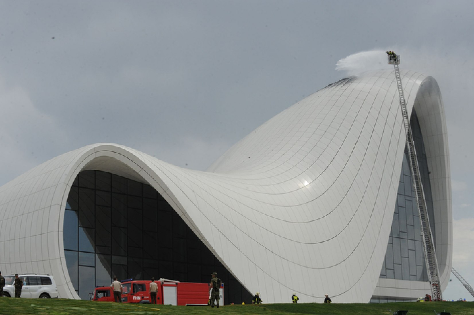 Heydar Aliyev center. Photograph by AzerTAc.