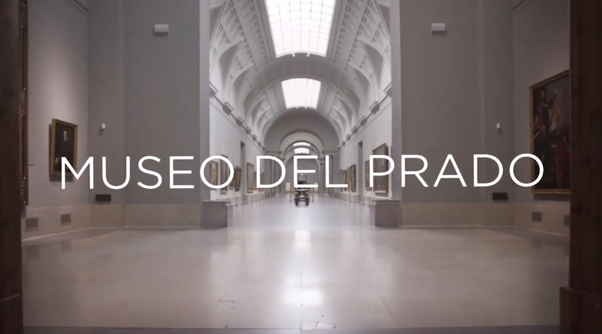 Bienvenidos al Museo del Prado. Imágenes del vídeo promocional.