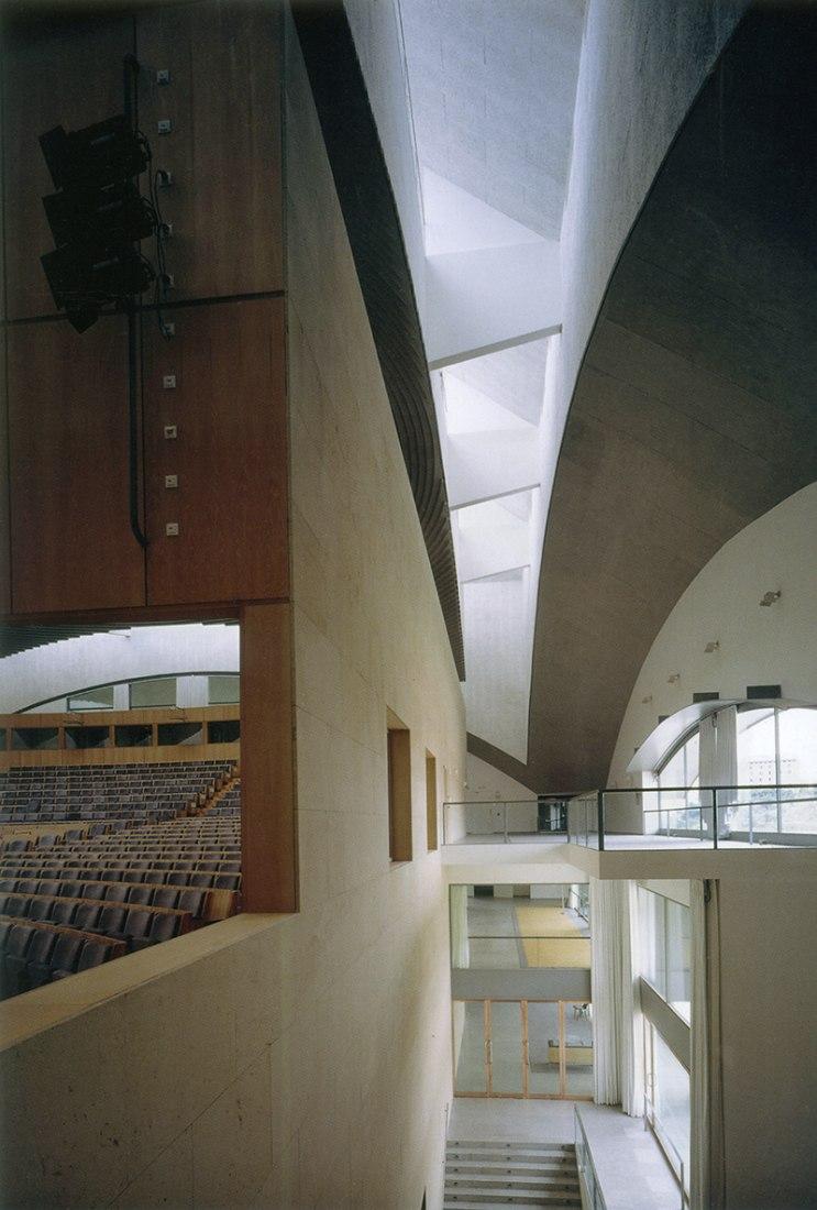 Palacio de Congresos de Castilla - León, 1985-1992. Fotografía ©Javier Azurmendi ©Juan Navarro Baldeweg. Cortesía Fundación ICO.
